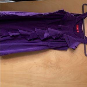 Elle purple dress